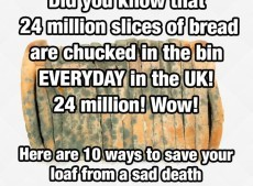 10 ways to save your bread from a sad/early death + save yourself a few quid every year in the process