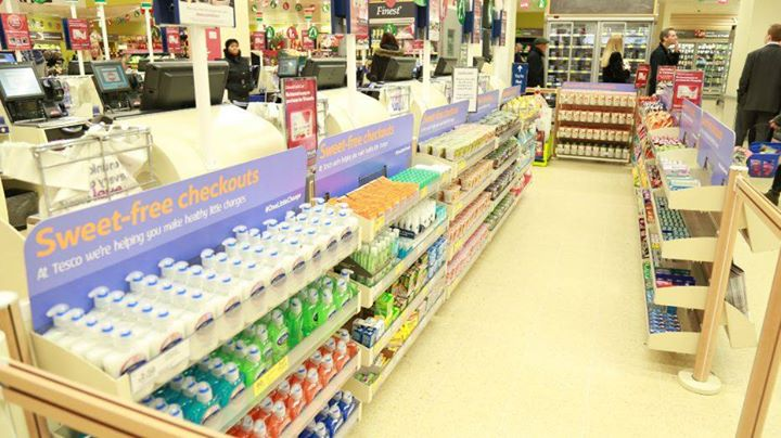 Tosco* to remove all sweets from its checkouts