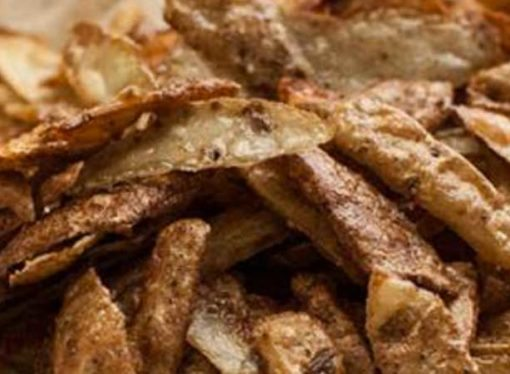 Never bin potato peelings, make these posh crisps instead!