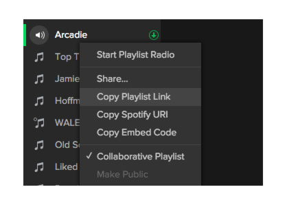 Transfer Spotify Playlists from an old account to a new one
