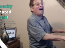 The man that played piano for the internet