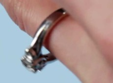 How to quickly resize a ring on the cheap