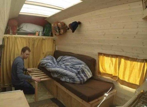 £750 van = rent free home