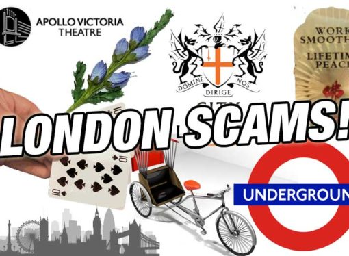 10 scams you may see in London