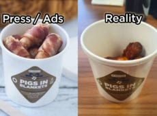 Greggs' Pigs in Blankets are leaving buyers disappointed as they open half empty tubs