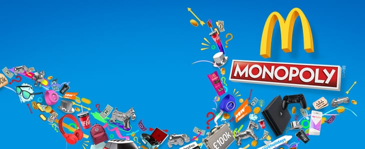 McDonalds Monopoly Returns (UPDATE: NOW DELAYED) – Rare pieces / the stats / ways to maximise your chances / confirmation it's all just a marketing ploy