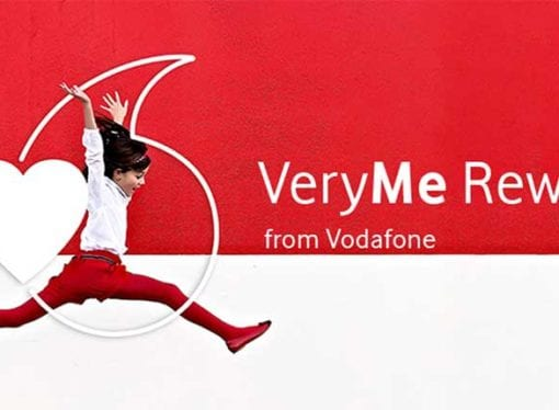 What is Vodafone VeryMe and what are the benefits?